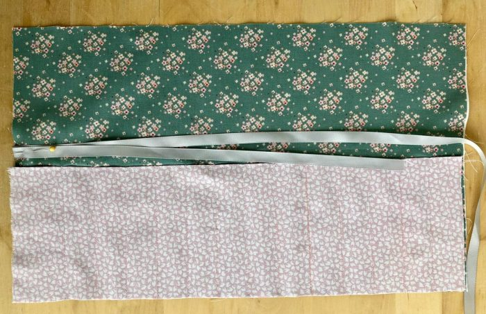 Easy Crochet Hook Roll Pattern - free pattern for fat quarters 14