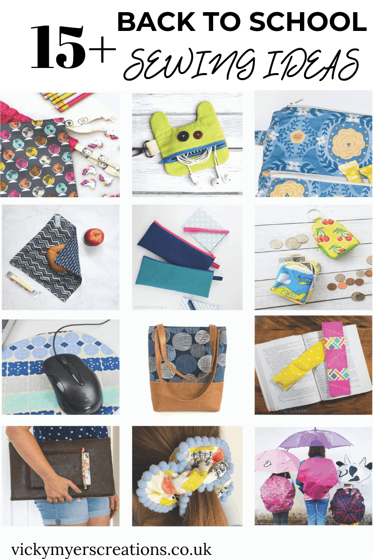 15+ Back to School Sewing Ideas 2