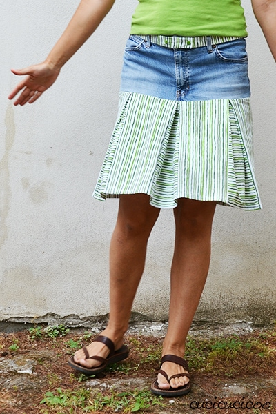 Are you wondering what to do with old jeans? 6