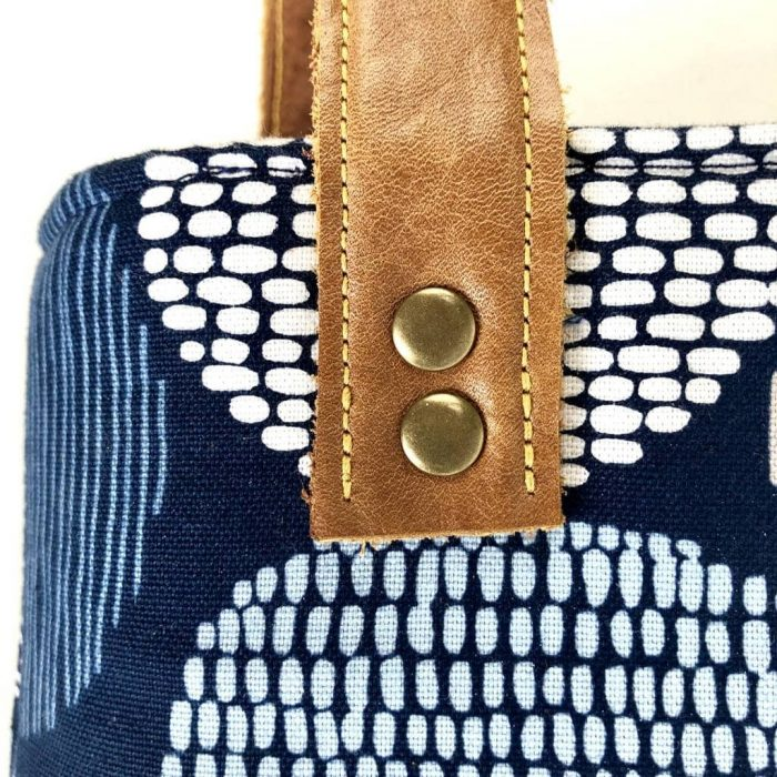 How to put rivets in fabric