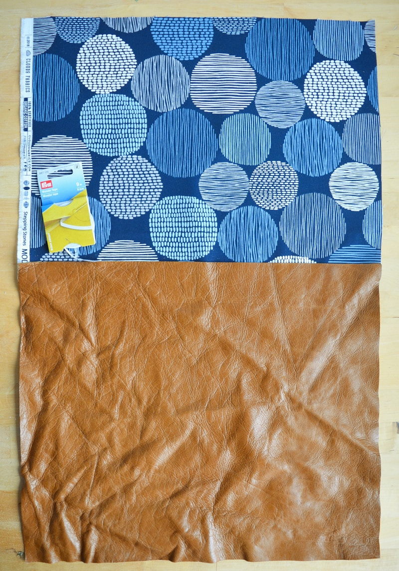 How to make a tote bag with lining, complete with tablet pocket 8