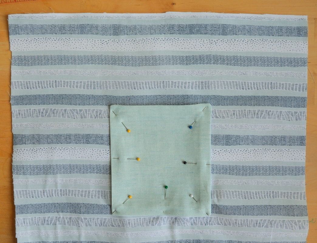 How to make a tote bag with lining, complete with tablet pocket 14