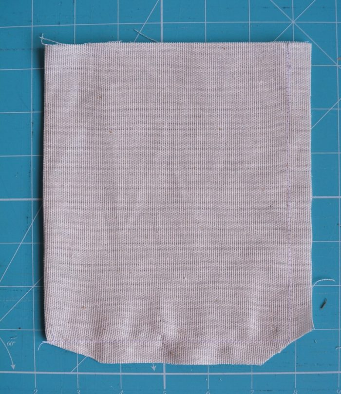 How to make a tote bag with lining, complete with tablet pocket 12