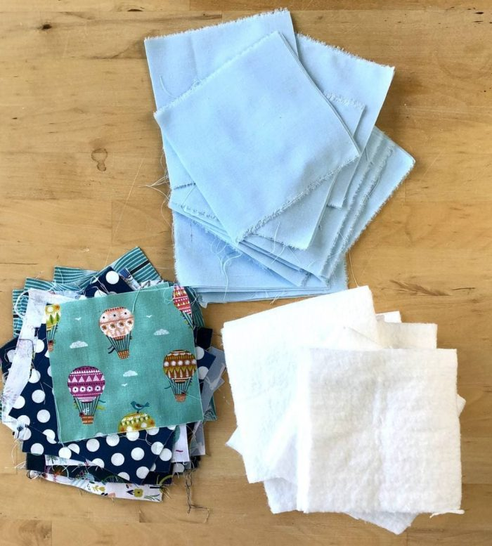 How to make a baby rag quilt 10