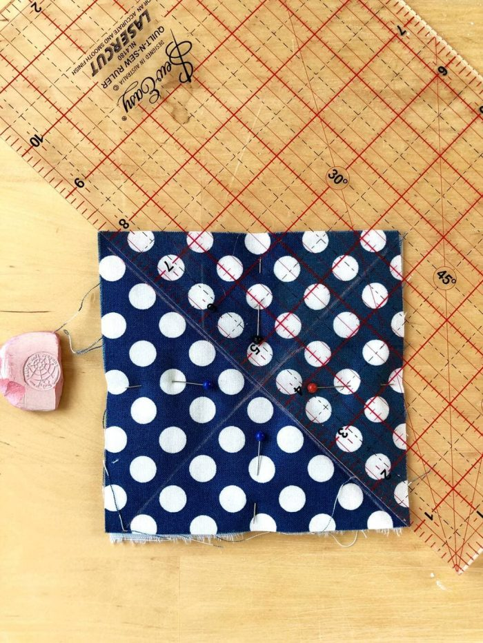 How to make a baby rag quilt 12