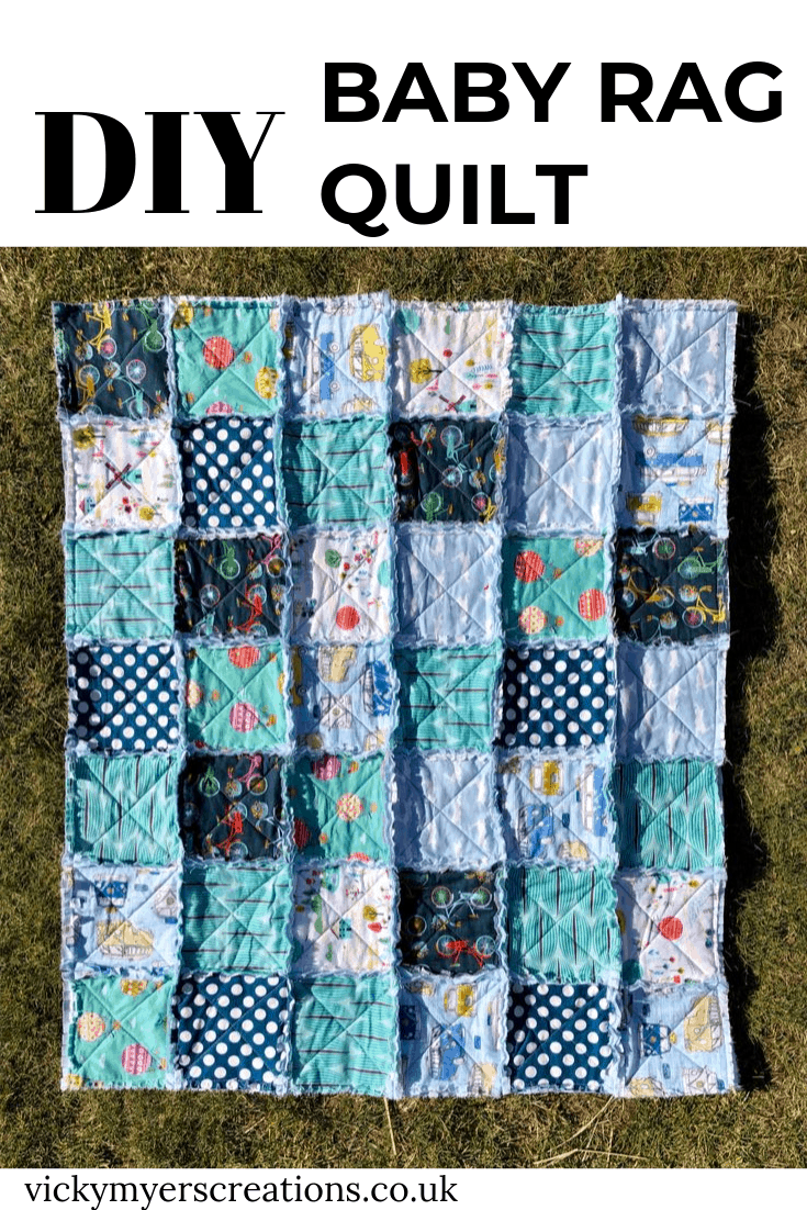 How to make a baby rag quilt 2
