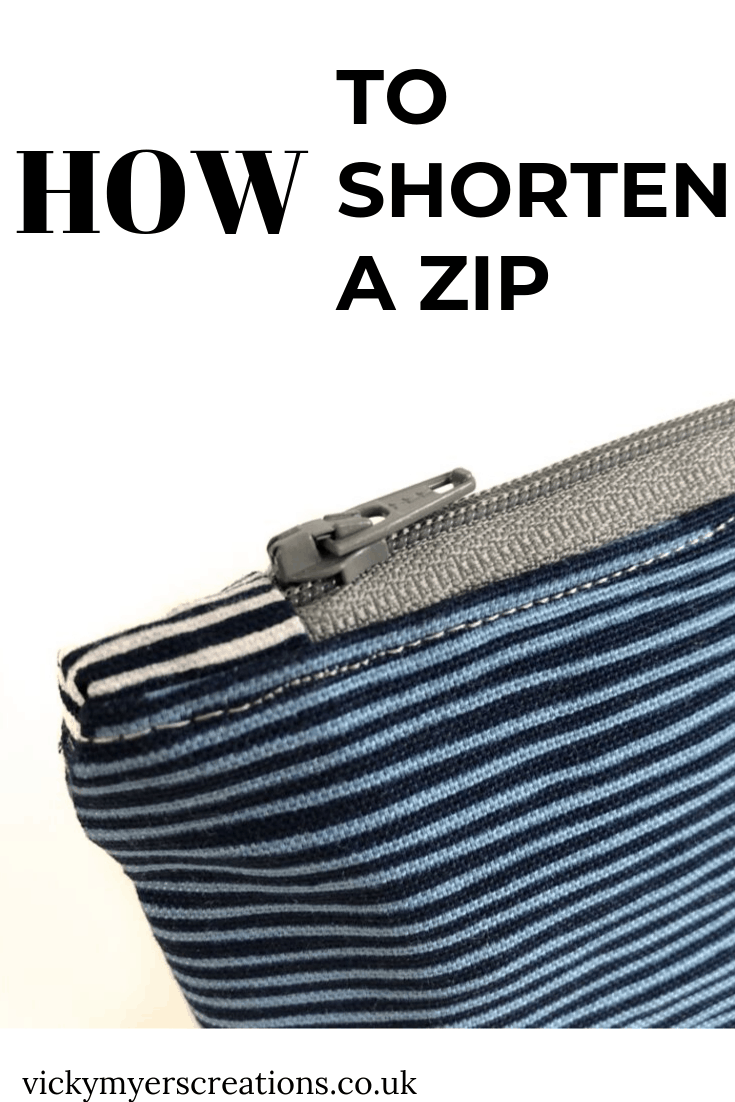 How to shorten a zip 2