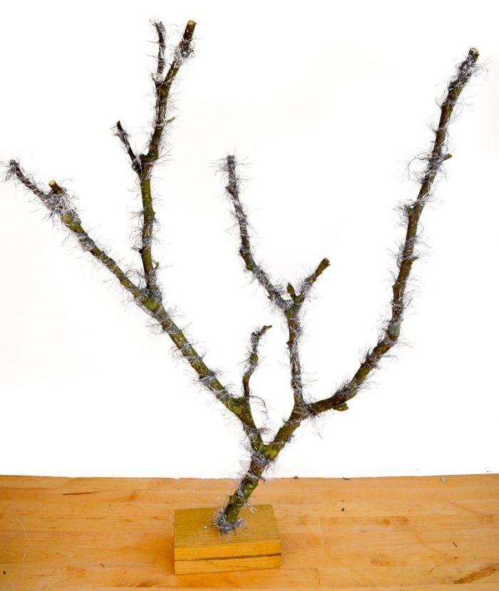 Alternative Christmas Tree from tree branches 26