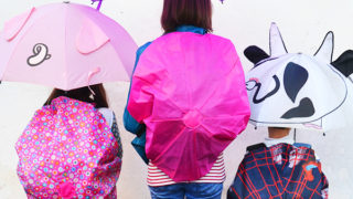 DIY backpack rain cover from umbrellas!