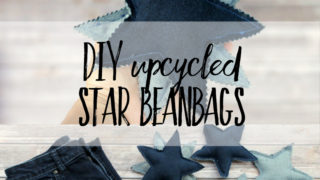 Free upcycled star bean bag pattern pdf