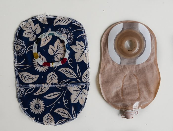 How to make an Ostomy Pouch Cover 18