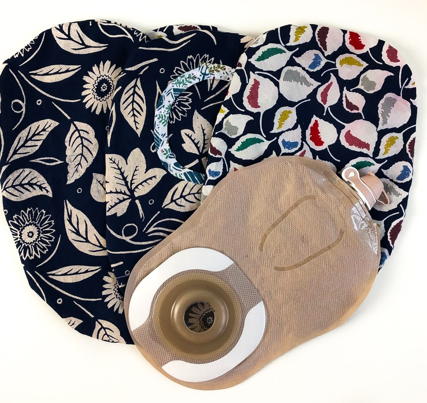 How to make an Ostomy Pouch Cover 2