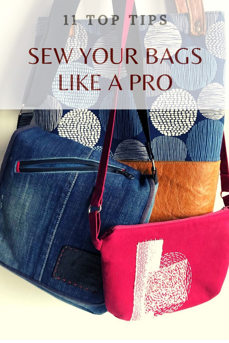 11 Top tips to sew your bag like a pro 2