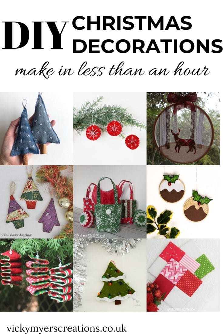 Quick and easy Christmas decorations 2