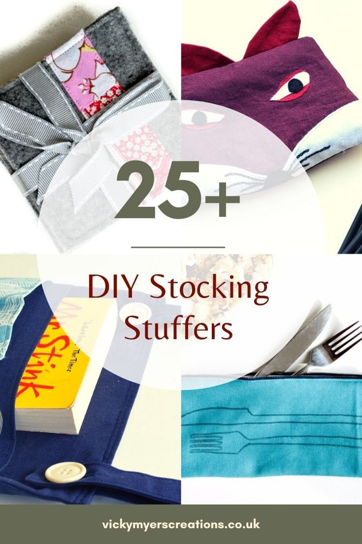 Are you looking to sew up a range of stocking stuffers? Looking for great ideas? These DIY stocking stuffers are easy to sew up for all the family