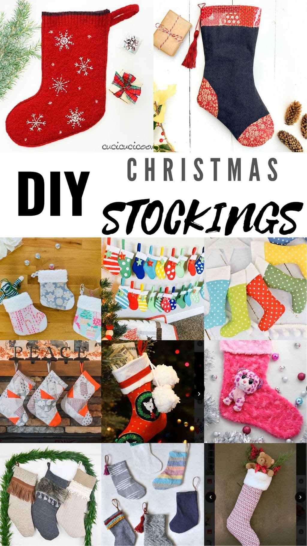 13+ FREE Stocking Patterns and Tutorials 2
