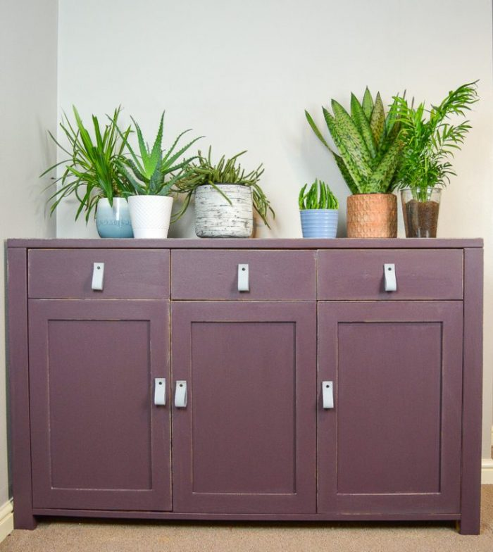 How to upcycle a sideboard