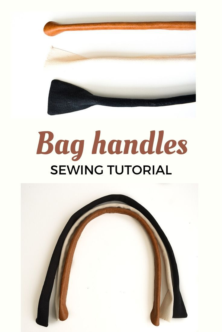 How to make padded and corded bag handles 46
