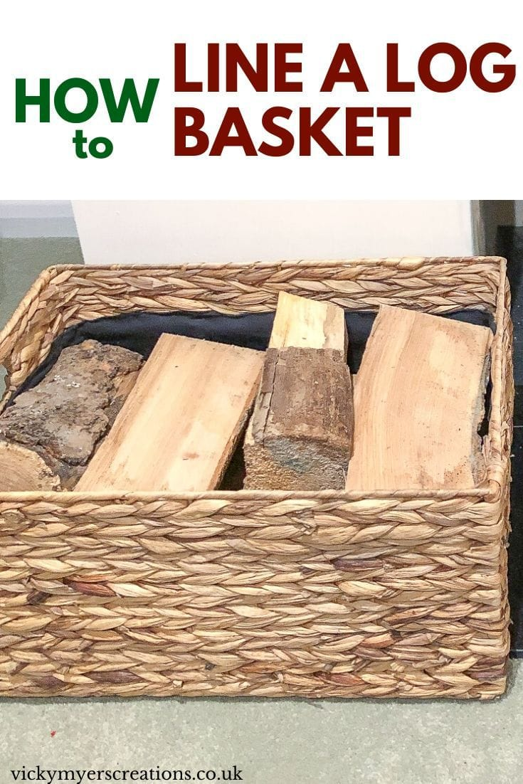 Do you love baskets? It is super easy to line a basket with handles, grab some fabric and lets get started.
