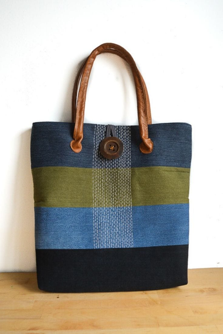 Large Denim Tote Bag Pattern Hack 2