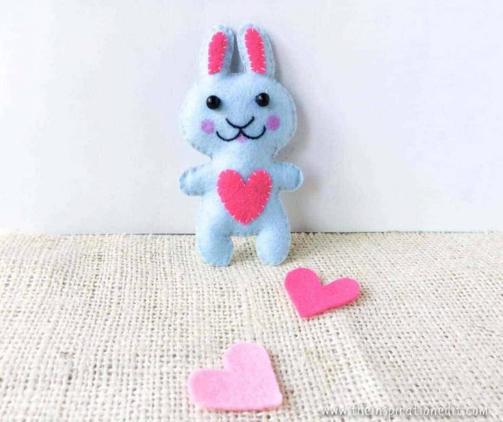 Easy Sewing Projects For Beginners Felt Bunny