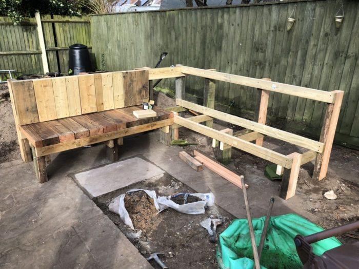 Stunning Diy Garden Bench Seat