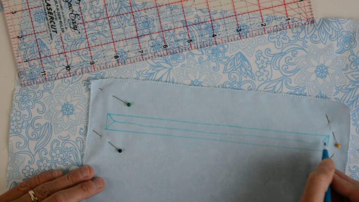 Reycled denim bags pattern 18