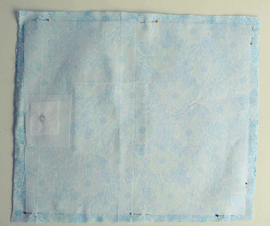 Reycled denim bags pattern 38