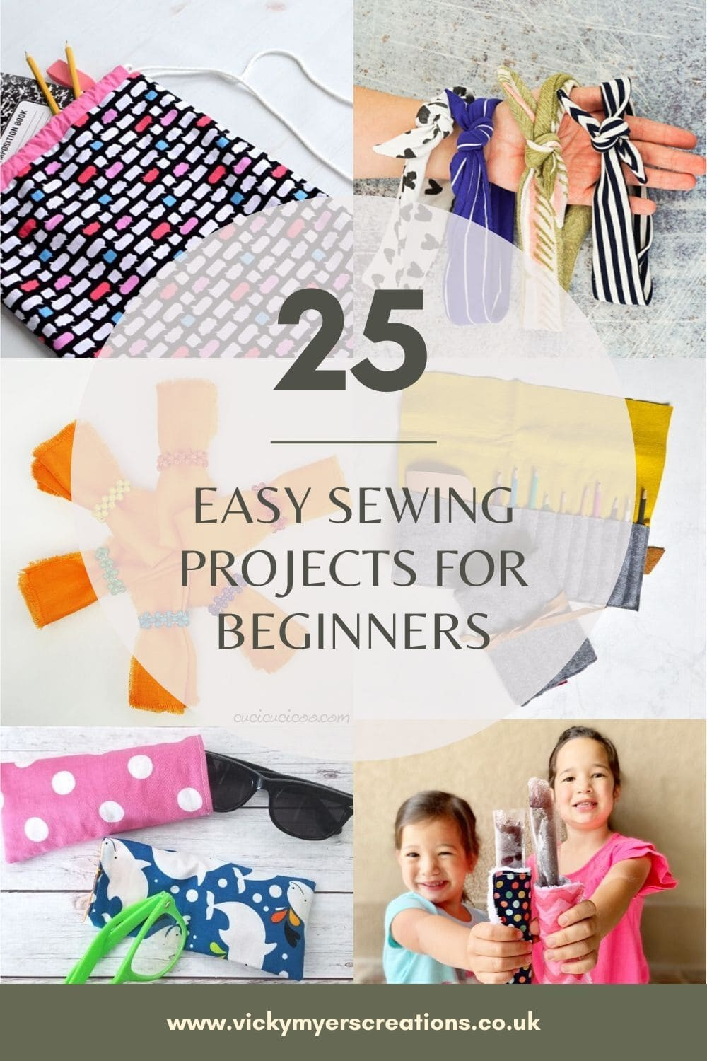 Fabulous range of easy sewing projects perfect for the beginner, let's get inspired, dust down out sewing machines and make something!
