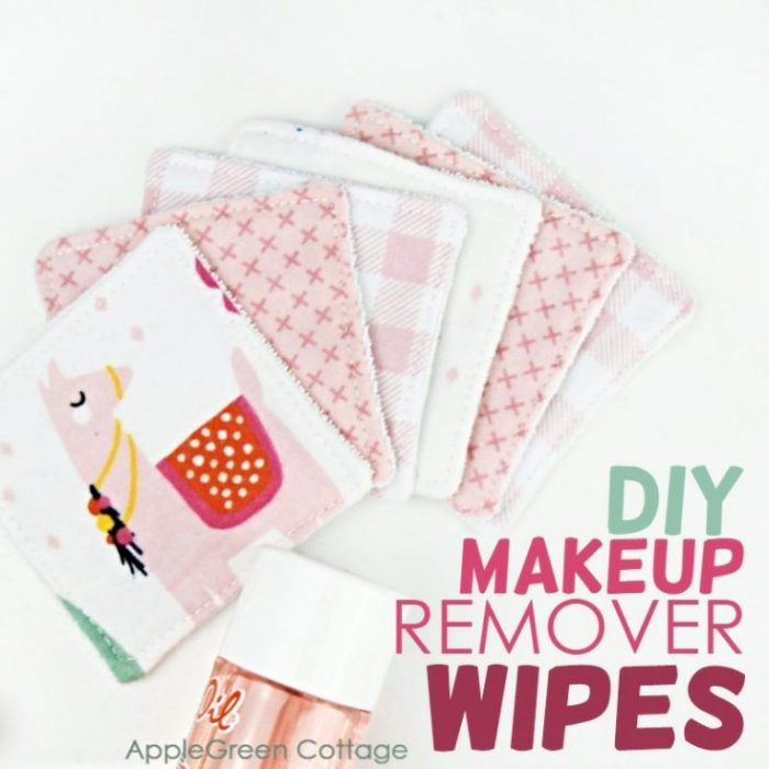 Easy Diy Makeup Remover Wipes You Can Sew Now!