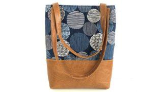 DIY tote bag with tablet pocket