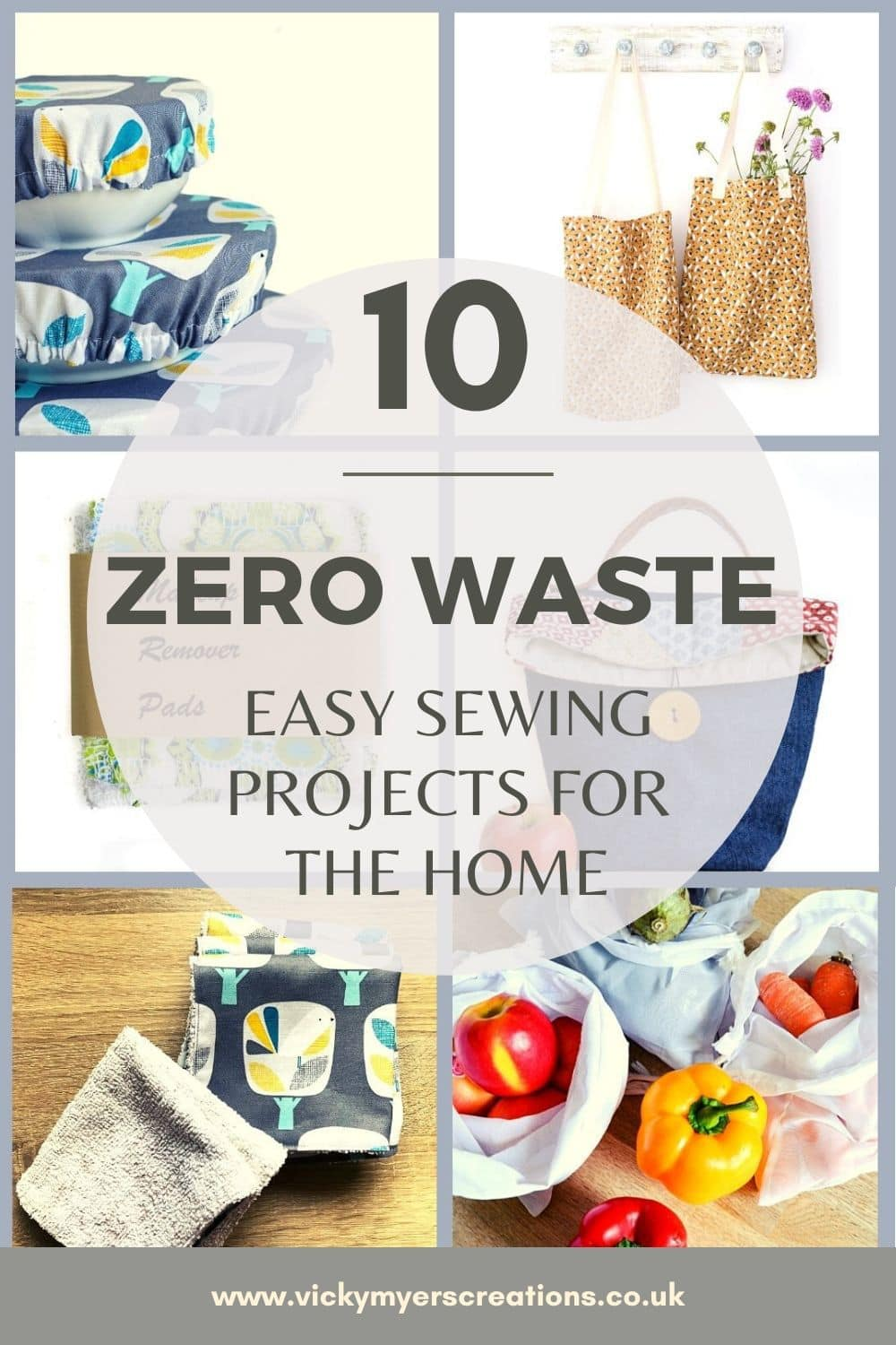 Simple sewing projects to swap out single use items. Be several steps nearer to a zero waste lifestyle with these easy DIY eco friendly swaps.