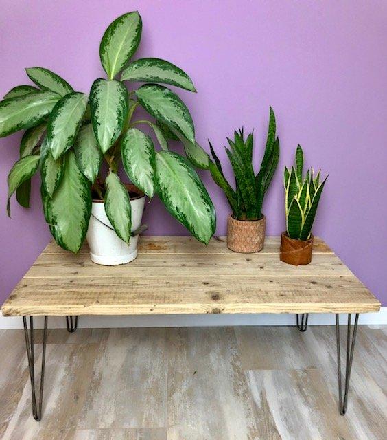 DIY Scaffolding Board Table